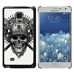 MOBMART Carcasa Funda Case Cover Armor Shell PARA Samsung Galaxy Mega 5.8 - The Sign Of Terror