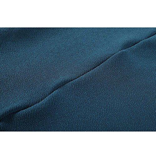 Douille À Fente Birdfly Été Automne Tissu Polaire Fourmi Courte De Style Mini Robe Bleu Pour Les Femmes