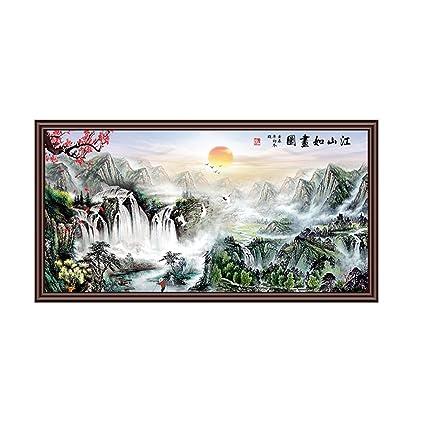 YIXINY Termoventiladores y calefactores cerámicos Placa Calefactora Pintura De Tinta Clásica China El Calentamiento De La