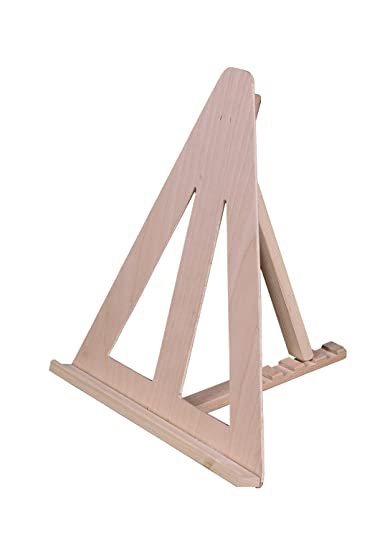 Charming American Easel Wahkeena Triangle Table Top Easel Natural Fir