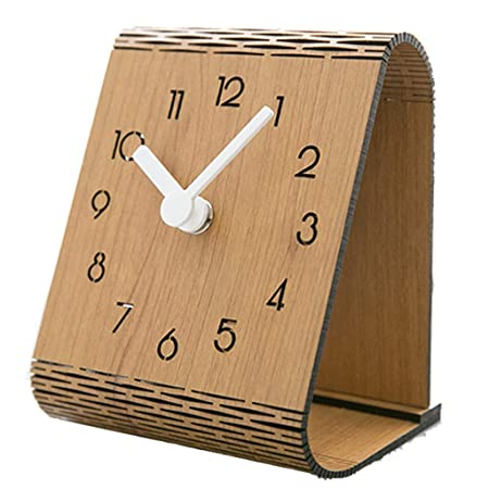 XBECO Reloj de Escritorio Minimalista Moderno Americano Escritorio ...