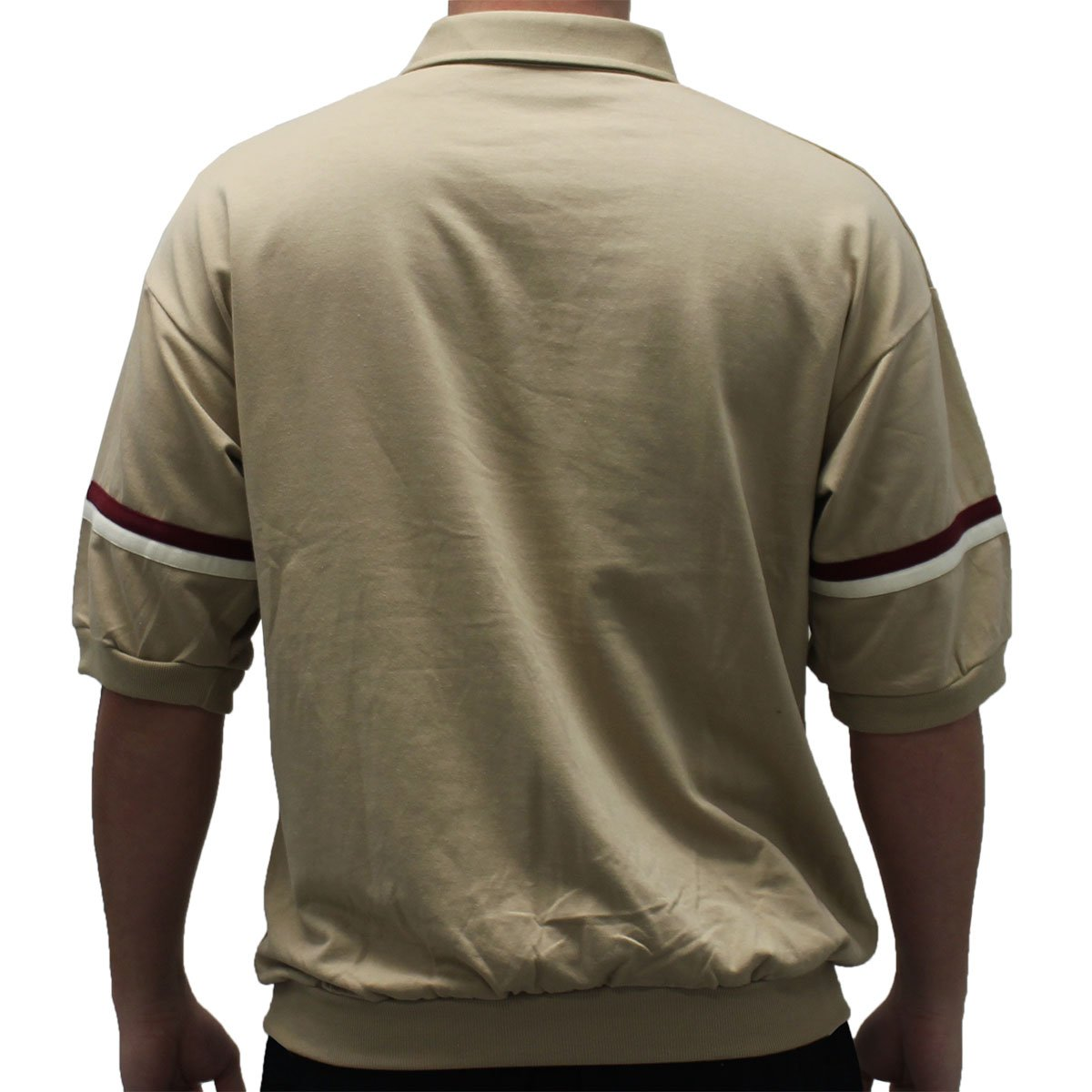 Banded Bottom Classics by Palmland S//S Horizontal Shirt 6090-622J