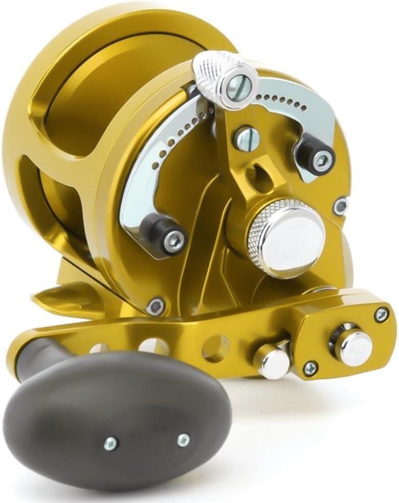 Avet mxj6 / 4ゴールドRaptorシリーズレバードラッグリール