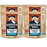 Quaker Gluten Free Oats, Quick Cook, 24oz bag, 4 Bags