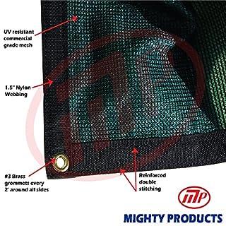Xtarps - 12 ft. x 16 ft. - 7 oz Premium 90% Shade Cloth, Shade Sail, Sun Shade (Green Color) (B00XNW6YX4) | Amazon Products
