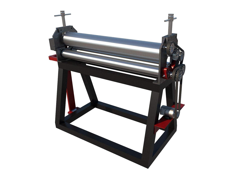 Sheet Metal Bead Roller Plans DIY Bending Roll Roller Metalworking Equipment