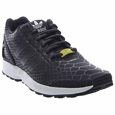 sports shoes fbf57 c3ead adidas Zx Flux Techfit Shadow Black Shadow Black White - Men's Shoes S75488  8