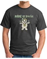David and Goliath Made of Dough Mens T-shirt