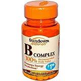 Sundown Naturals Vitamin B Complex, 60 Count