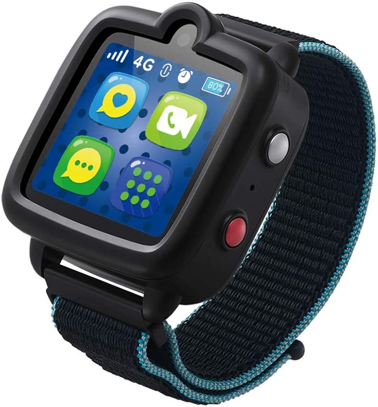 TickTalk 3 Unlocked 4G LTE Universal Kids Smart Watch Phone with GPS Tracker, Combines Video, Voice and Wi-Fi Calling, Messaging, Camera, IP67 Water ...
