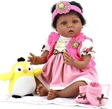 Aori Lifelike Reborn African American (Black) Baby Dolls, 22
