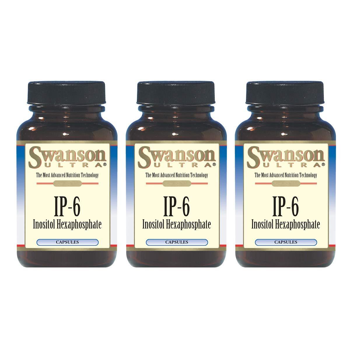 Swanson IP-6 Inositol Hexaphosphate 240 Capsules (3 Pack)