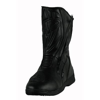 Vega Touring Women's Motorcycle Boots (Black, Size 6): Automotive