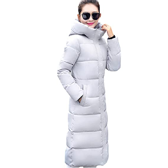 Amazon.com: Dapengzhu Fashion Winter Jacket Women New Thick Warm Female Jacket Cotton Coat Parkas Long Jaqueta Feminina Inverno Women Hooded Coat Black ...