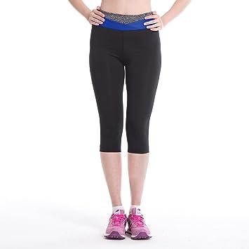 Amazon.com : LERDU Women's Tights Active Yoga Running Pants ...