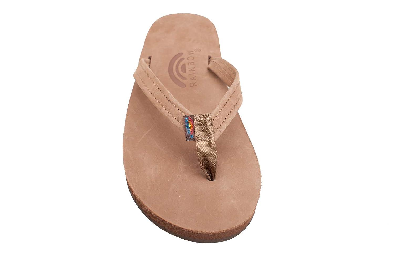 f60c0c0f79d0 Amazon.com  Rainbow Sandals Women s Single Layer Premier Leather Narrow  Strap  Shoes
