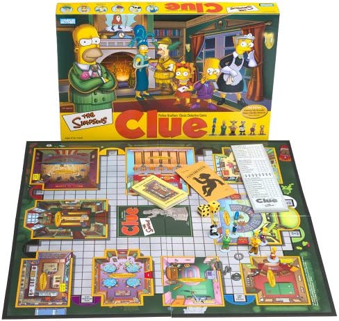 Simpsons Clue: Amazon.es: Juguetes y juegos