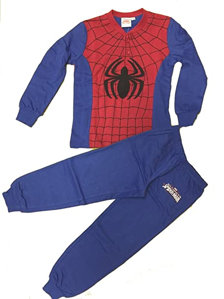 e25c52f420 Pijama The Avengers Marvel Spiderman Hombre Araña   24441 denim 6 años   Amazon.es