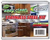 Tekon - Easy Clean Forever Stainless Steel Kit - Clean Protect Shine.