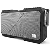 Portable Bluetooth Speaker with Power Bank, Nillkin Outdoor IPX4 Level Waterproof USB Charging Wireless Speaker [5200mAh Rechargeable Battery] for iPhone 7 Plus/ Galaxy S8/S8+ (Black)