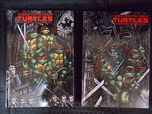 Teenage Mutant Ninja Turtles The Ultimate Collection Graphic Novel, Complete Collection of Volume 1-5 All First Printing from 2011-2013, Brand New