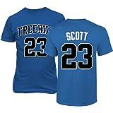 28c5a4935b69 RAVENS Basketball Movie  23 Nathan Scott One Tree Hill Jersey Style Men s T- Shirt