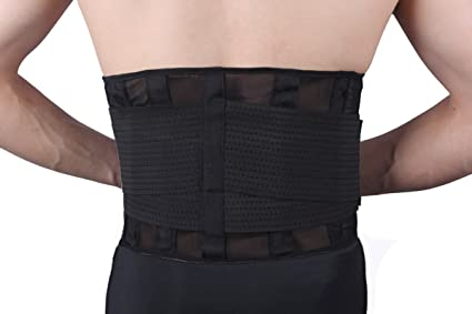 b7bc27429594e Image Unavailable. Image not available for. Color  FOCUSSEXY Men s and Women s  Waist Trainer Belt - Waist Trimmer Girdle - Back ...