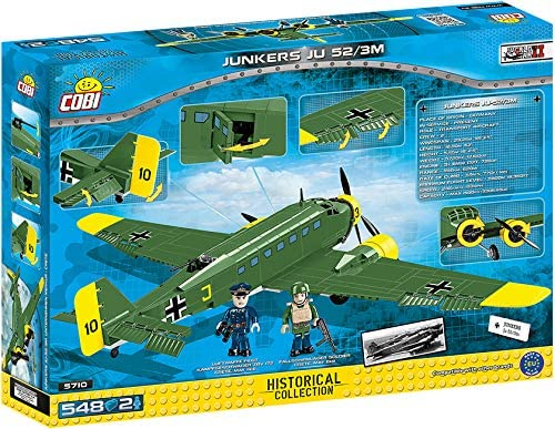 COBI Historical Collection Junkers JU 52 Plane