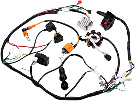 Amazon.com: Complete Electrics ATV QUAD 150cc 200cc 250cc 300cc 3 Holes  Stator CDI Performance Coil Wire Harness Zongshen Lifan: AutomotiveAmazon.com