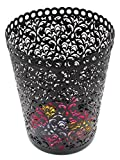 EasyPag 2 PC Office Trash Can Hollow Flower Pattern