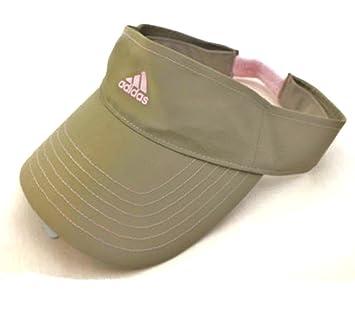 adidas Performance Visière Chapeau Fille pour Femme Kaki Rose Golf de  Tennis de Sport décontracté Haute 860ac1c187e