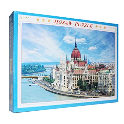 DDKK Puzzles for Adults 1000 Piece, Places of Interest Landscape Jigsaw Puzzle Toy Unique Home Decorations and Gifts (Budapest): Toys & Games