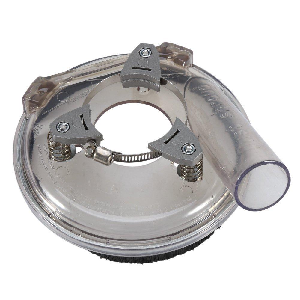 Dust Shroud 5inch / 125mm Universal Plastic Vacuum Dust Shroud Kit for Adjustable Angle Grinders Yosoo