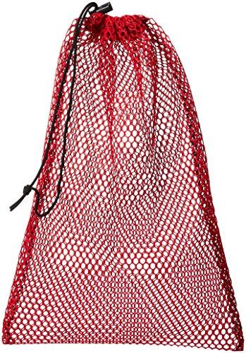 Equinox Nylon Mesh Stuff Bag, Red, 11 x 16-Inch