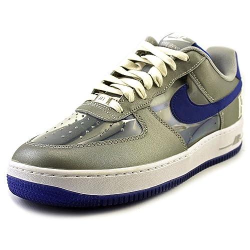 on sale 15435 e3fd0 Nike Air Force 1 CMFT Firma QS para Hombre Zapatilla de Deporte Gris 687  843 002, Size 47.5  Amazon.es  Zapatos y complementos