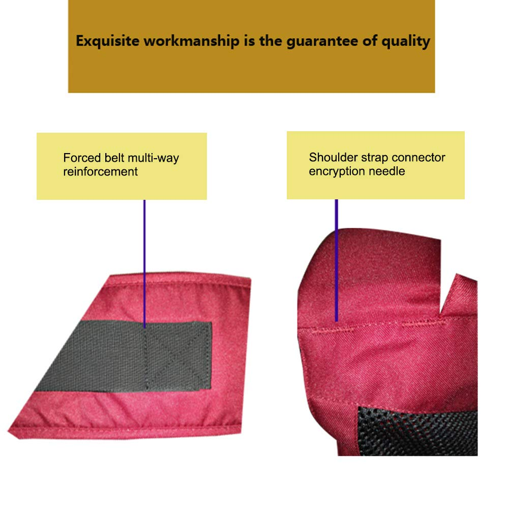 vielseitig einsetzbar von Neugeborenen bis Kleinkindern Kinder-Rucksack vorne gerichtet JUHUIZHE Baby-Tragetasche Babytrage