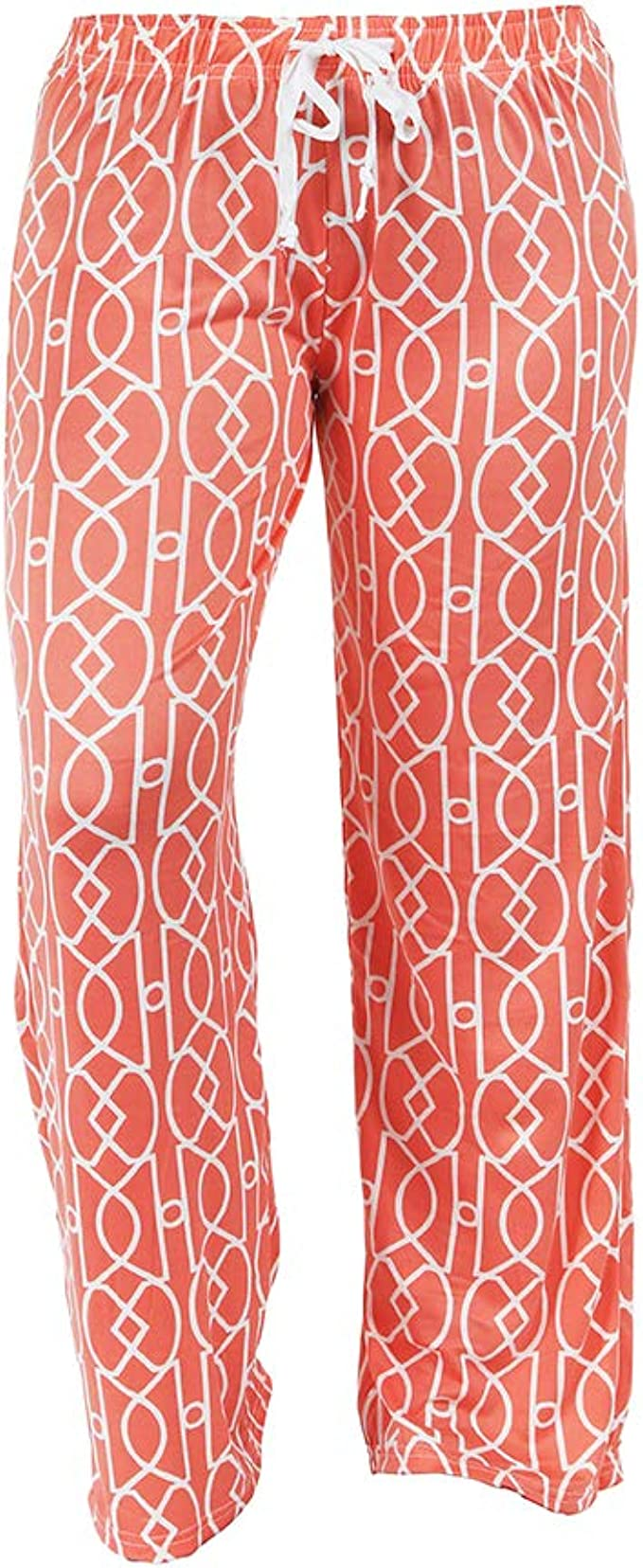 Hello Mello Trendy Womens Loungewear Pants With Luxurious Soft Fabric And Adjustable Elastic Waistband Garden Awake Break
