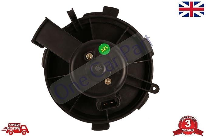 Motor de ventilador de ventilador con ventilador de aire para 206 307 6441 K0, 6441.K0: Amazon.es: Coche y moto