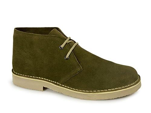 e84b85109ef6db Roamers Mens Suede Desert Boots Original Classic Styling: Amazon.co ...