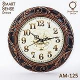 Smartsense 20 Inches Wall Clock Creative Gift Design Decorative Indoor Kitchen Clock, 3D Numbers Display.