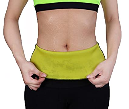 424ccd4486e15 Image Unavailable. Image not available for. Color  Hioffer Women Hot Thermo Sweat  Neoprene shapers Waist ...