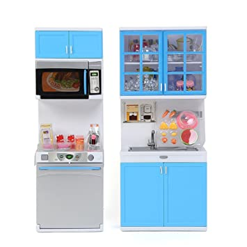 Amazon.com : Plastic Child Kitchen Pretend Play Toy Set ...