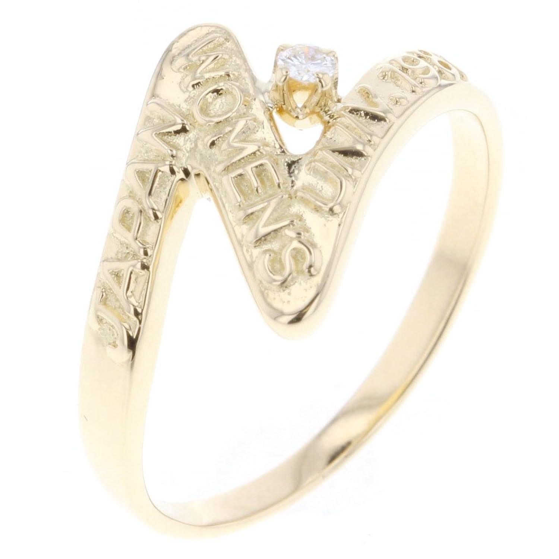(ミキモト) MIKIMOTO 1P デザイン リング指輪 K18イエローゴールド/ダイヤモンド レディース 中古 B07DXH4P6X