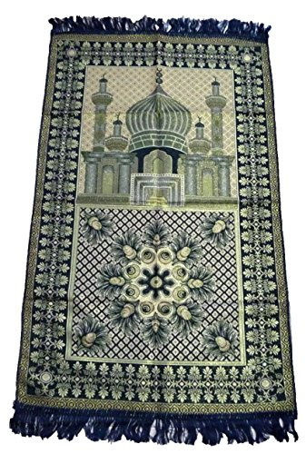 light blue prayer mat - 3