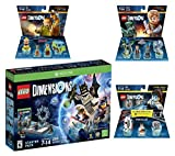 Lego Dimensions Starter Pack + Portal 2 Level Pack + Scooby Doo Team Pack + Jurassic World Team Pack for Xbox One or Xbox One S Console