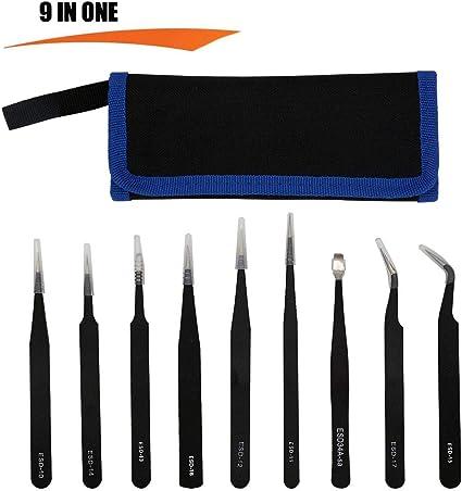 Soldering Tweezers Anti-static Stainless Steel Soldering Tools