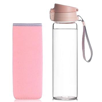 Reeho® 510ml Botella de agua con funda de protección de neopreno
