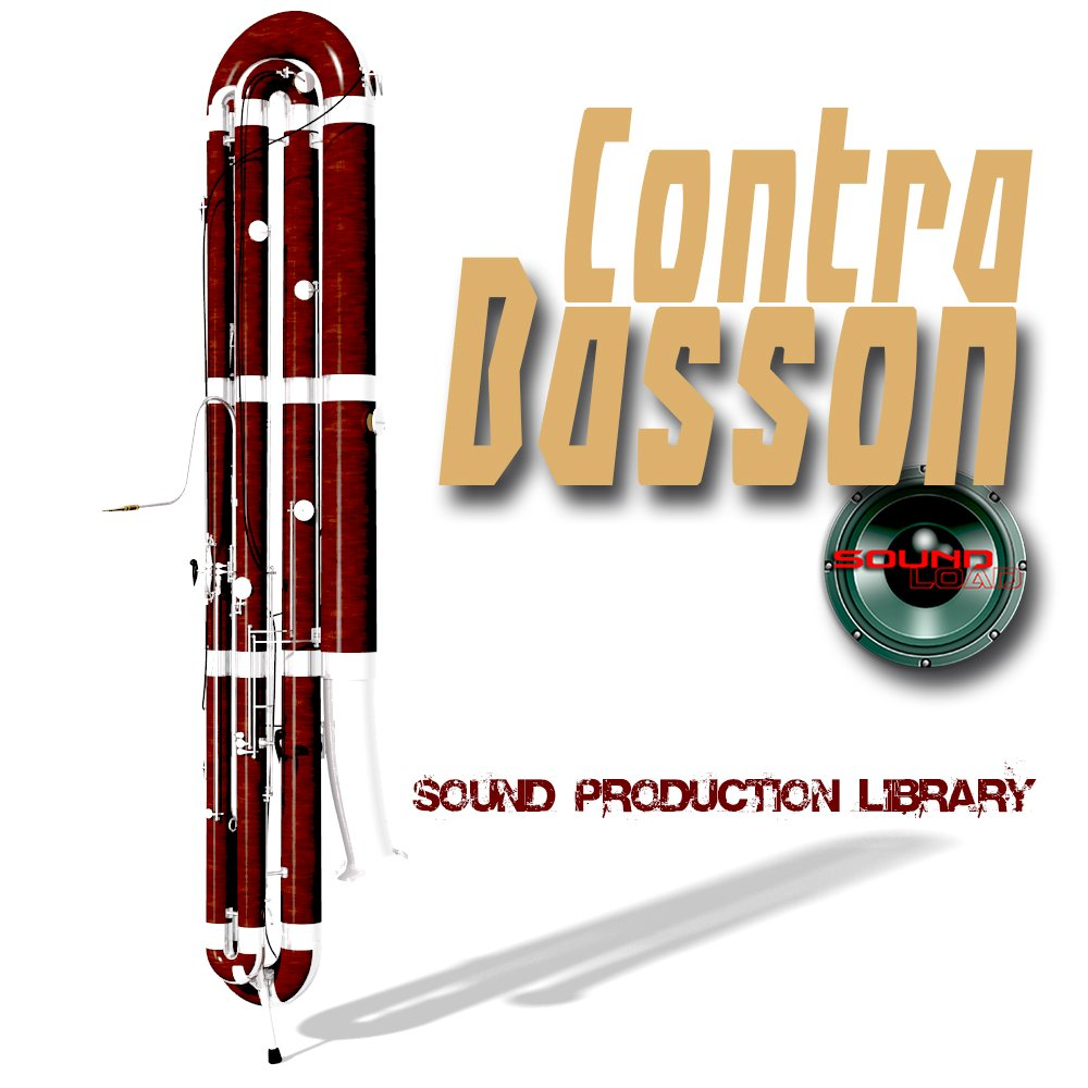 Contra Basson Real - Large Unique 24bit WAVE/KONTAKT Multi-Layer Studio Samples Production Library on DVD or download