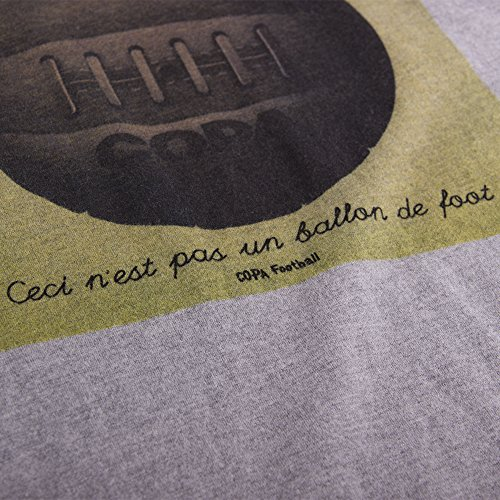 COPA Football - Ballon de Foot T-Shirt - Grau