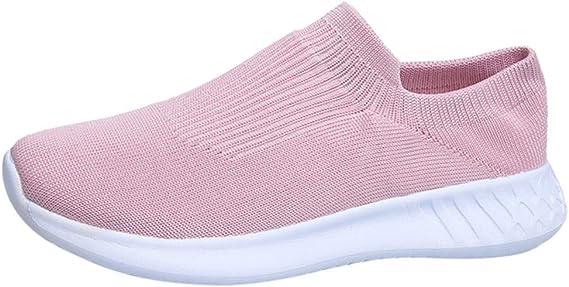 Luckycat Zapatillas Deportivas de Mujer - Zapatos Sneakers Zapatillas Mujer Running Casual Yoga Calzado Deportivo de Exterior de Mujer Running Zapatos para Correr Gimnasio Calzado: Amazon.es: Relojes